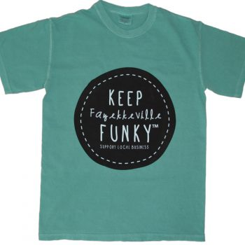 Keep Fayetteville Funky T-Shirt – TEAL