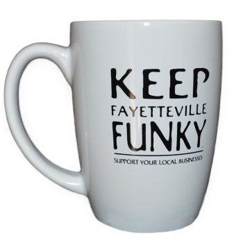 Keep Fayetteville Funky Coffee Mug