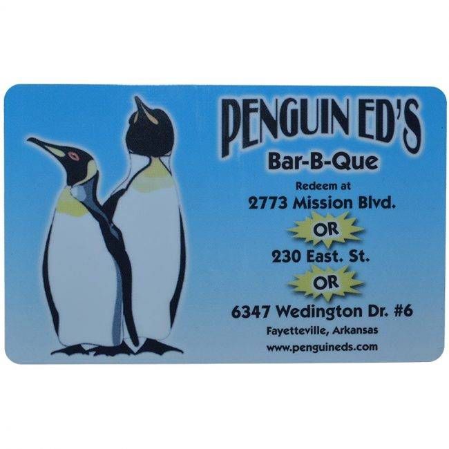 Penguin Ed's Gift Card
