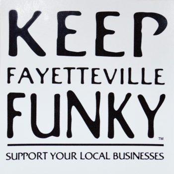 Keep Fayetteville Funky Bumper Sticker