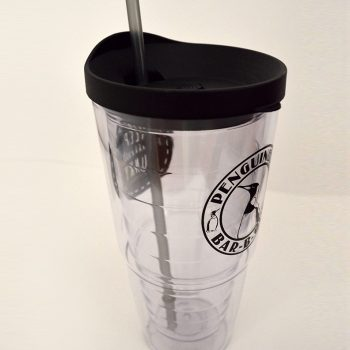 Keep Fayetteville Funky Clear Plastic Drinking Cup 20oz